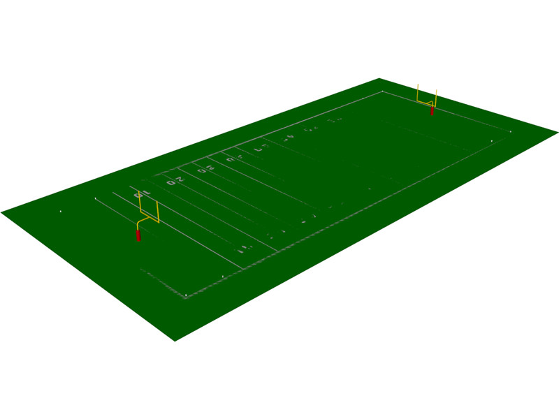 800x600 Stadium Clipart 3d Model