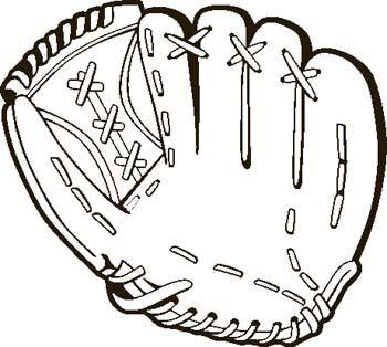 Baseball Glove Clipart