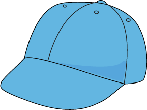 289x216 Blue Baseball Hat Clip Art