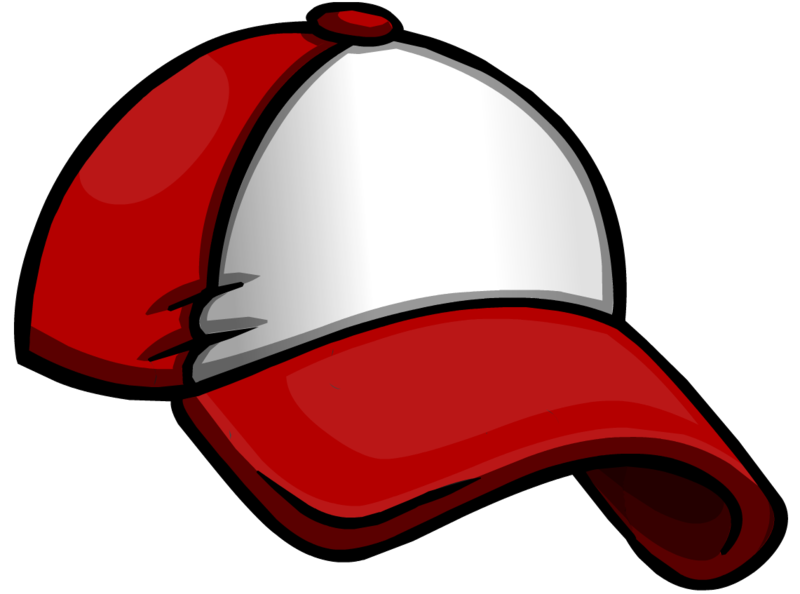 800x594 Baseball Hat Clip Art 2