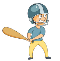 206x210 Baseball Player Free Sports Baseball Clipart Clip Art Pictures