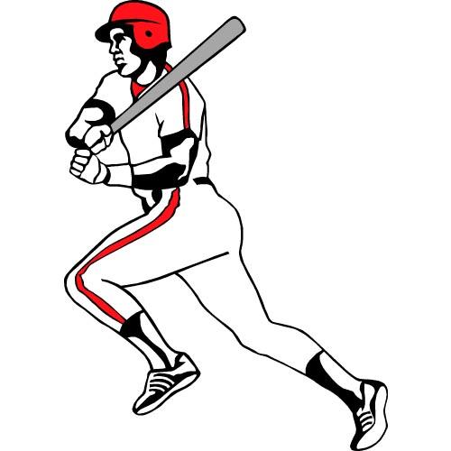 500x500 Baseball Clipart Free Baseball Graphics 3