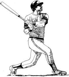 236x263 Sports Clipart Image Of Black White Pitcher Pitching Baseball