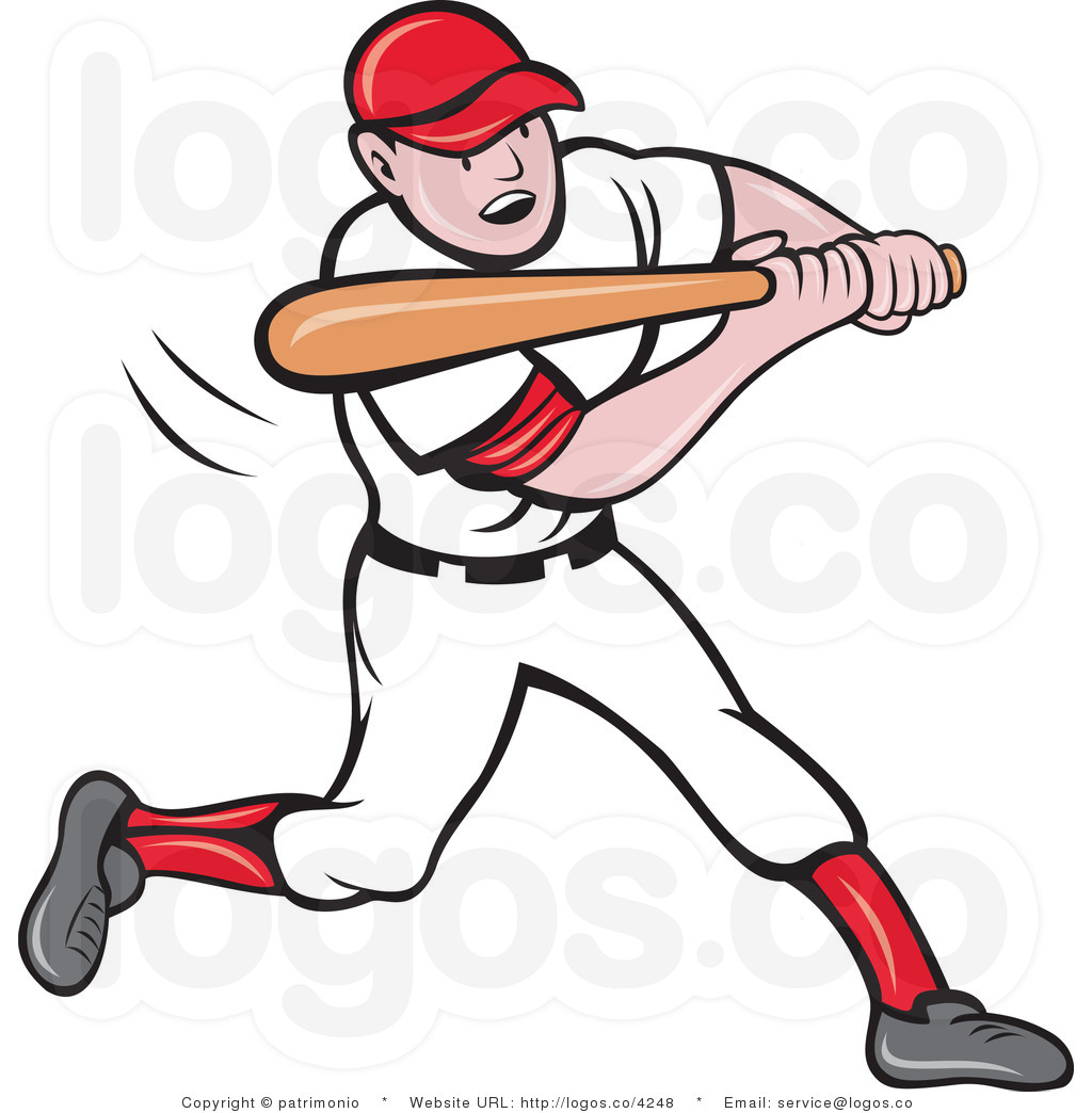 1024x1044 Baseball Players Clipart