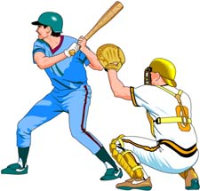 225x215 Baseball Player Free Baseball Graphics And Animations Clipart