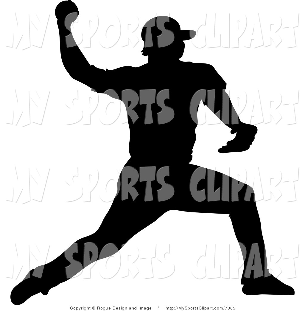 1024x1044 Sports Clip Art Of A Baseball Player Pitching By Pams Clipart