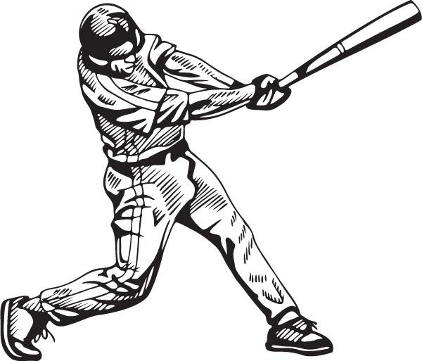 600x513 Baseball Clip Art