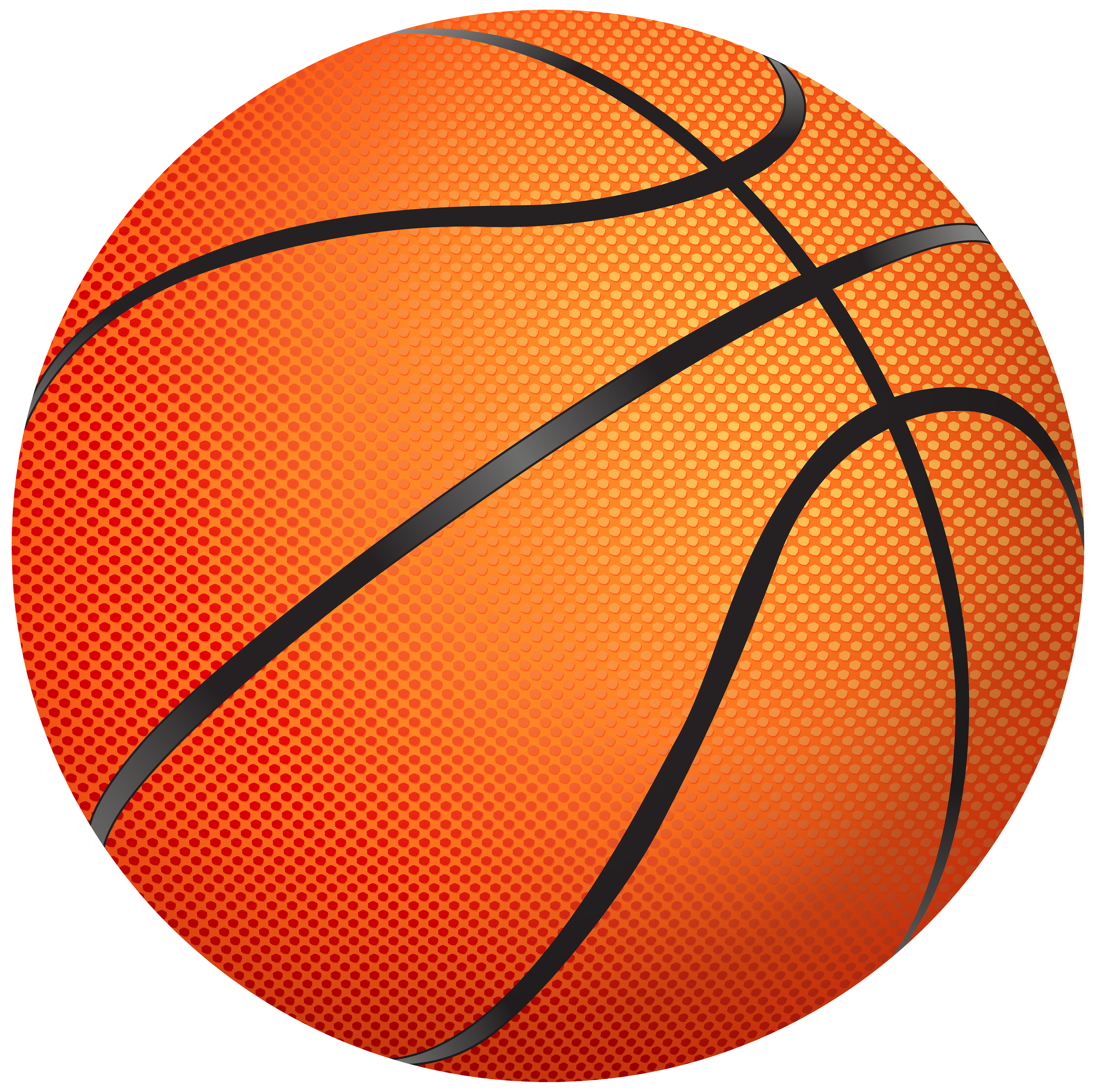 4000x3990 Basketball Png Clipart