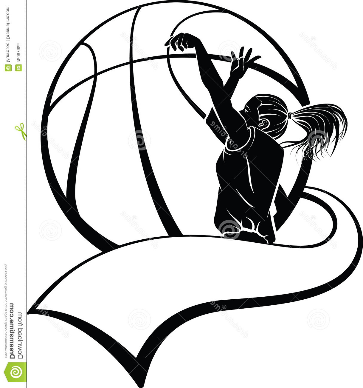 1218x1300 Girl Shooting Basketball Clipart