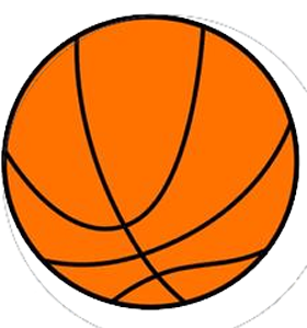 280x299 Orange Basketball Clipart, Explore Pictures