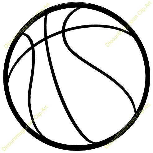 493x493 Basket Ball Clipart
