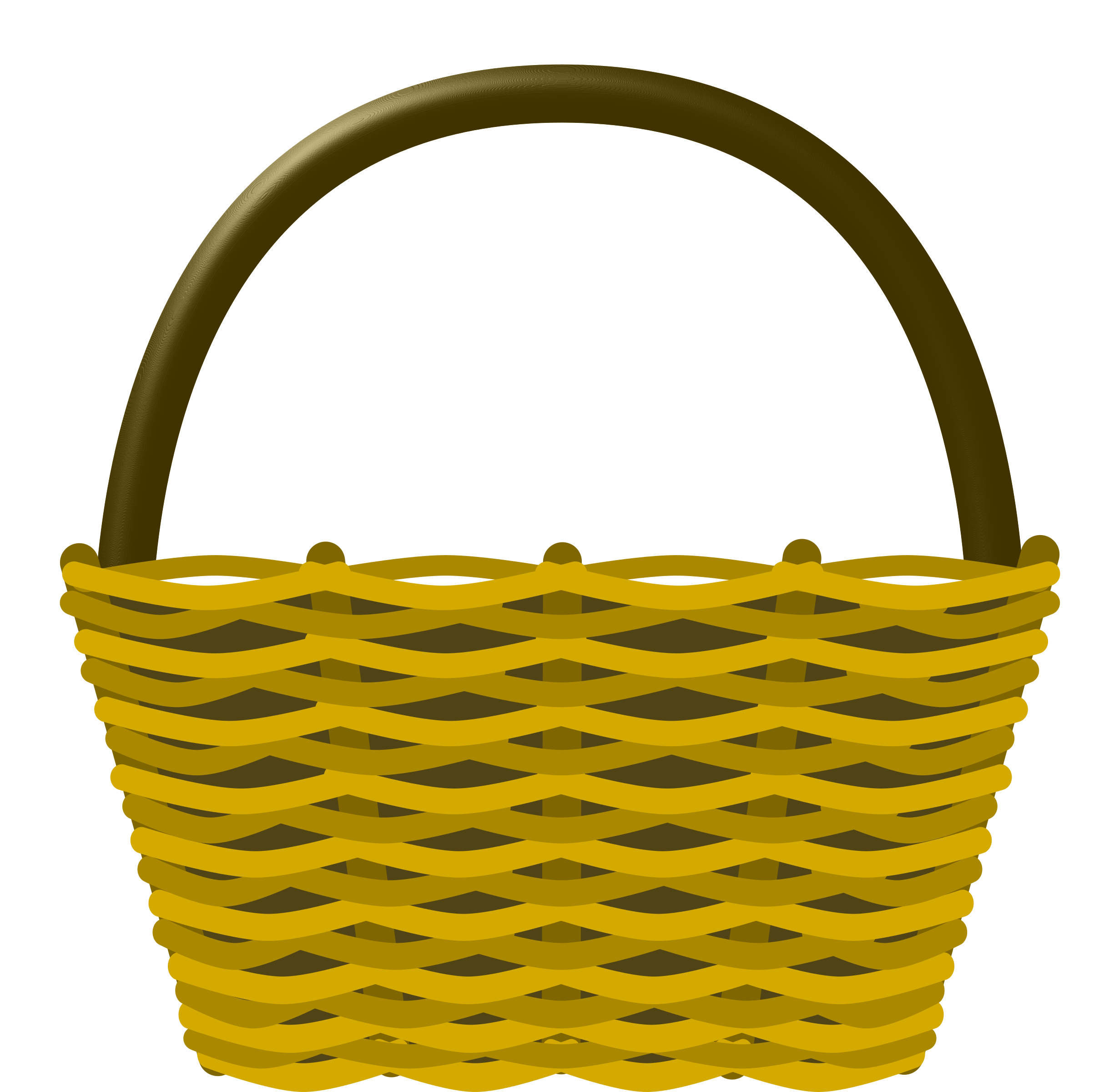 2460x2400 Basket Clip Art Many Interesting Cliparts