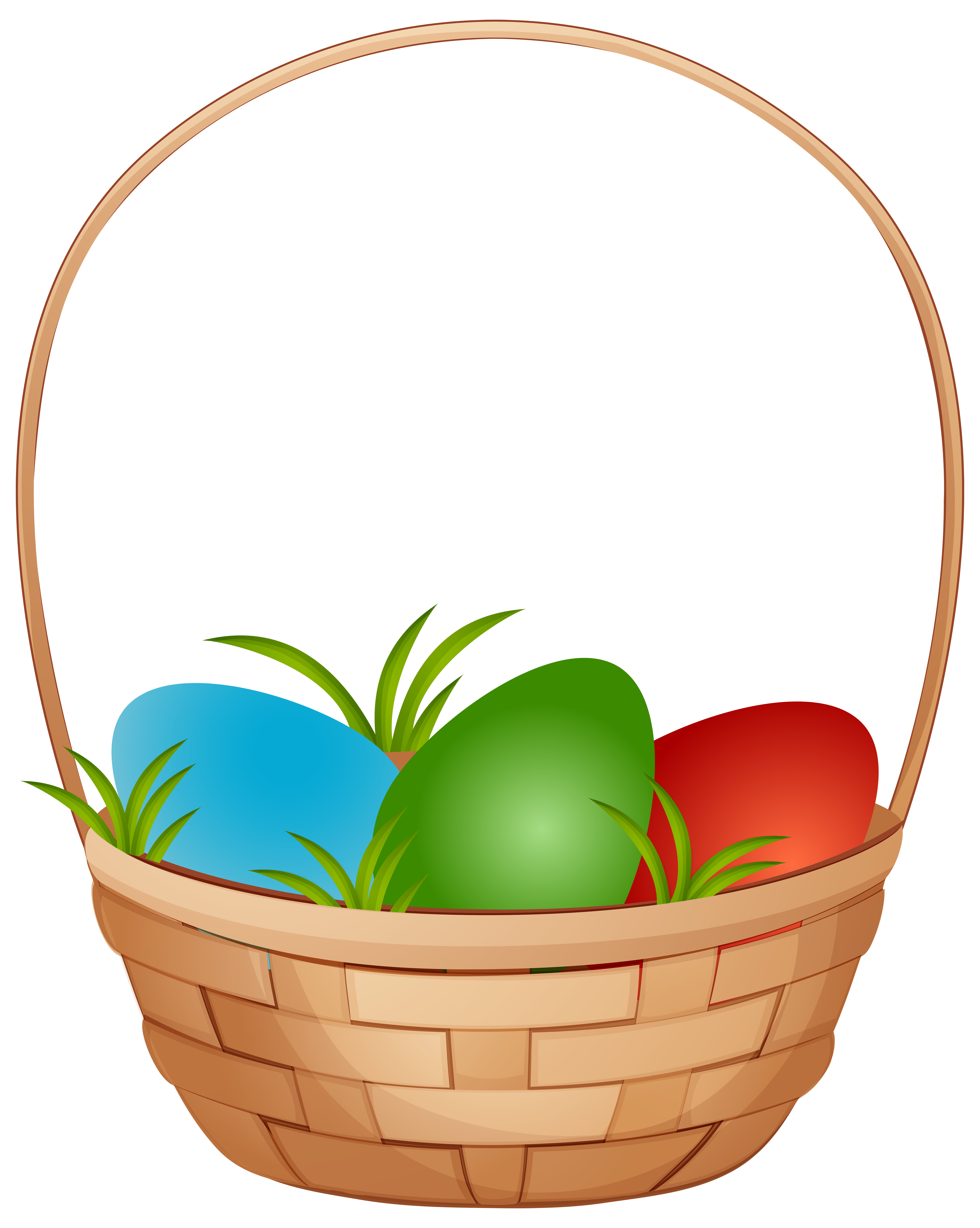 4788x6000 Easter Basket With Eggs Png Clip Art Imageu200b Gallery Yopriceville