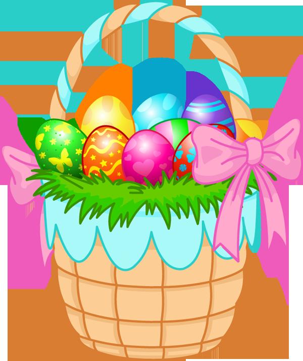 600x714 Gift Basket Easter Basket Clip Art
