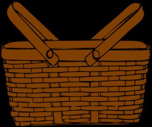 298x249 Basket Clip Art