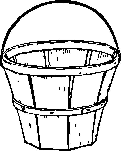 480x601 Quart Basket Clip Art