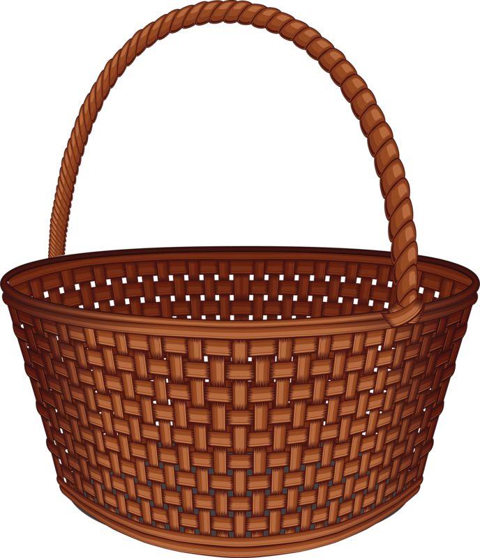 688x800 Top 69 Basket Clip Art