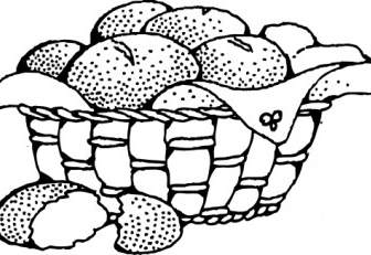 336x231 Bread Basket Clip Art Vector Clip Art Free Vector Free Download