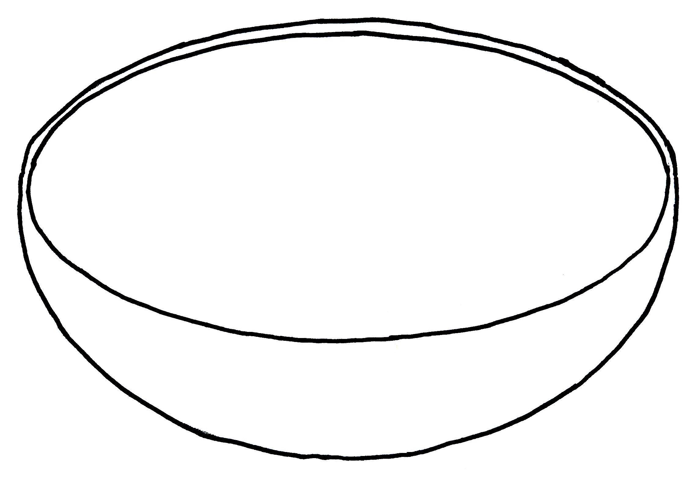 2244x1564 Empty Basket Black Clipart