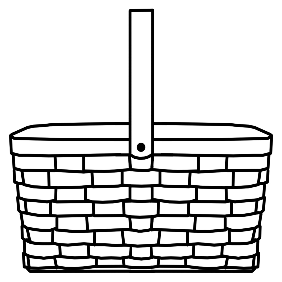 basket clipart black and white free download best basket picnic basket clip art border picnic basket clip art free