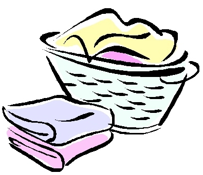 395x341 Laundry Basket Clipart Black And White
