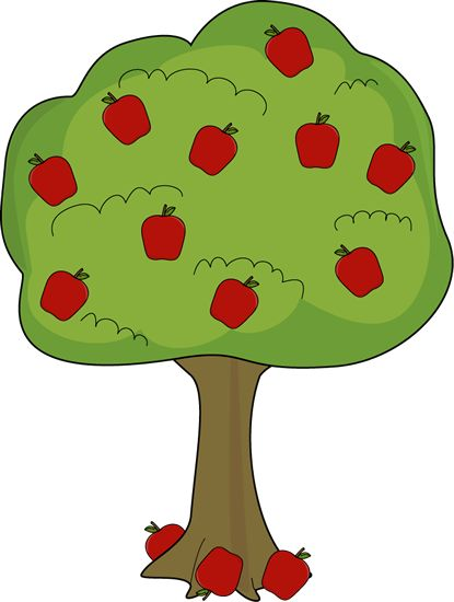 Basket Of Apples Clipart