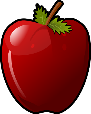 317x398 Apple Free To Use Clip Art 2