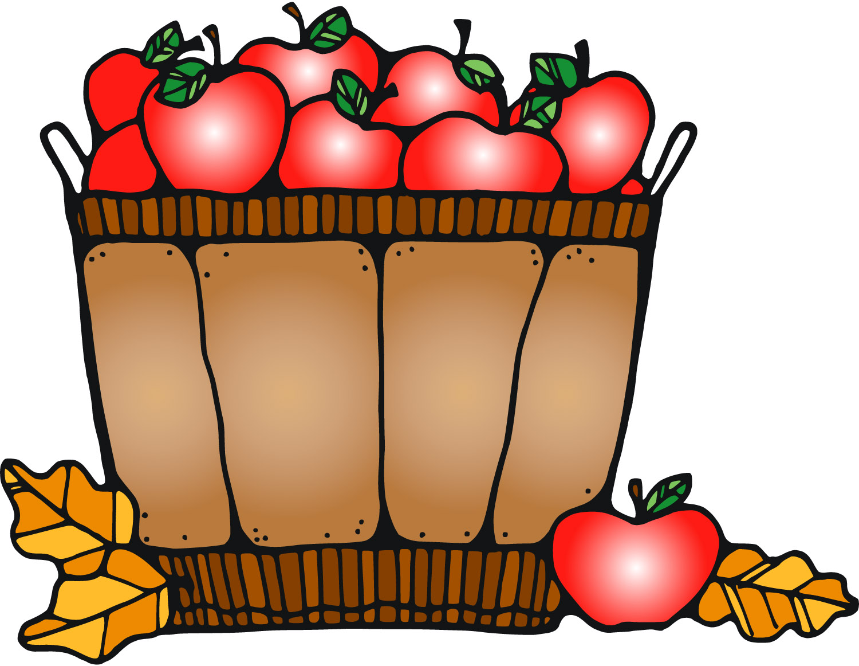 1500x1162 Autumn Basket Cliparts