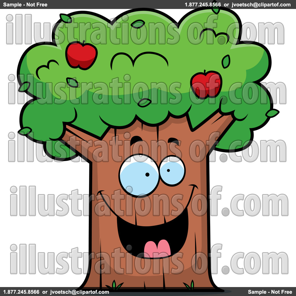 1024x1024 Basket Clipart Apple Tree