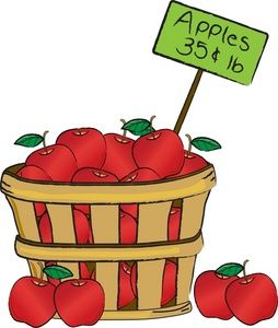 254x300 19 Best Clipart Images Apples, Baskets And Drawings