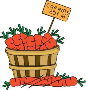 286x300 Carrots Clipart Image