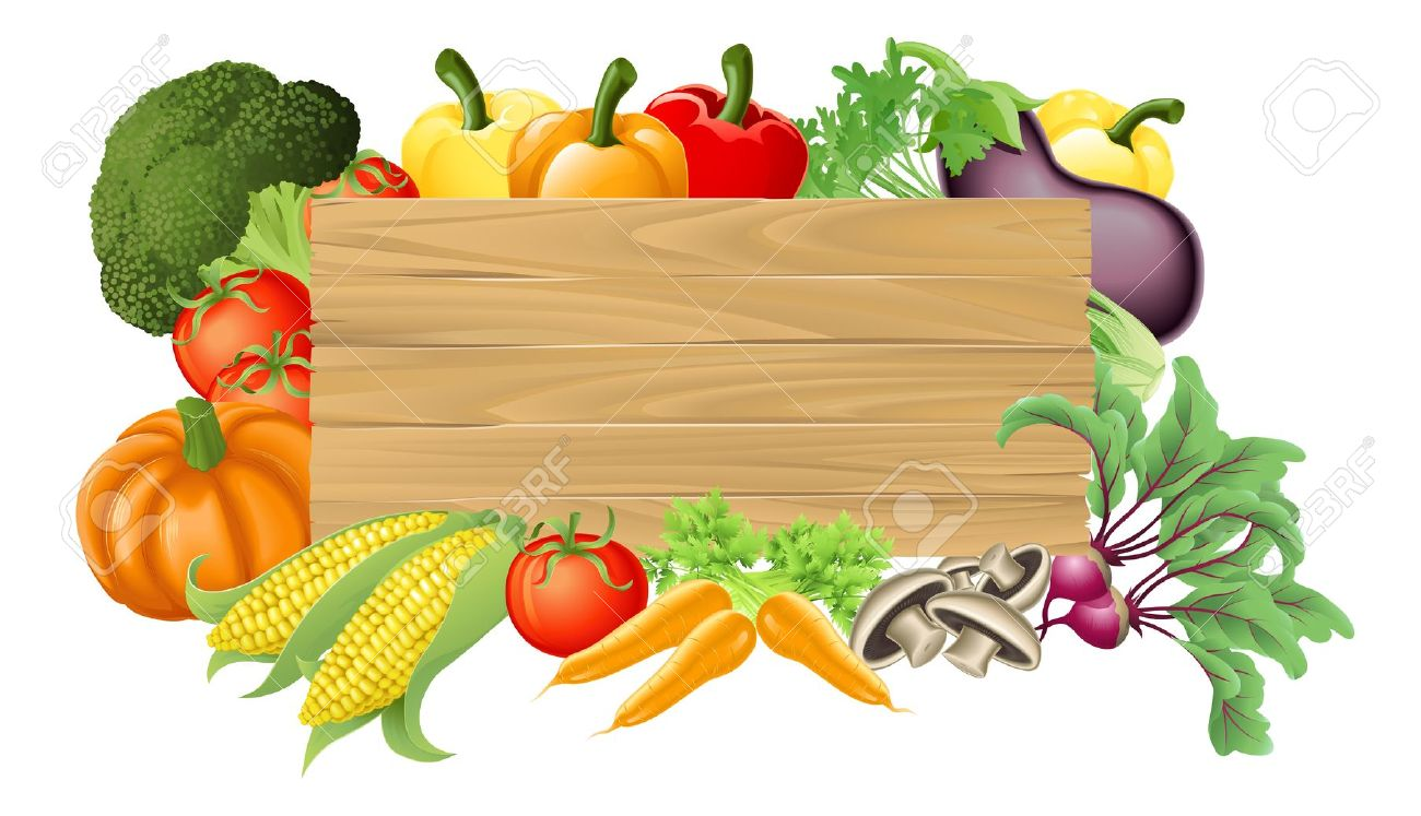 1300x747 Fresh Vegetables Clipart
