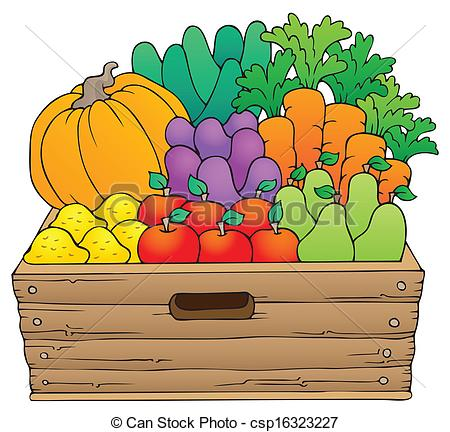 450x432 Fruits Amp Vegetables Clipart Crop