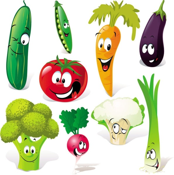 595x600 Vegetable Free Vector Download (919 Free Vector) For Commercial