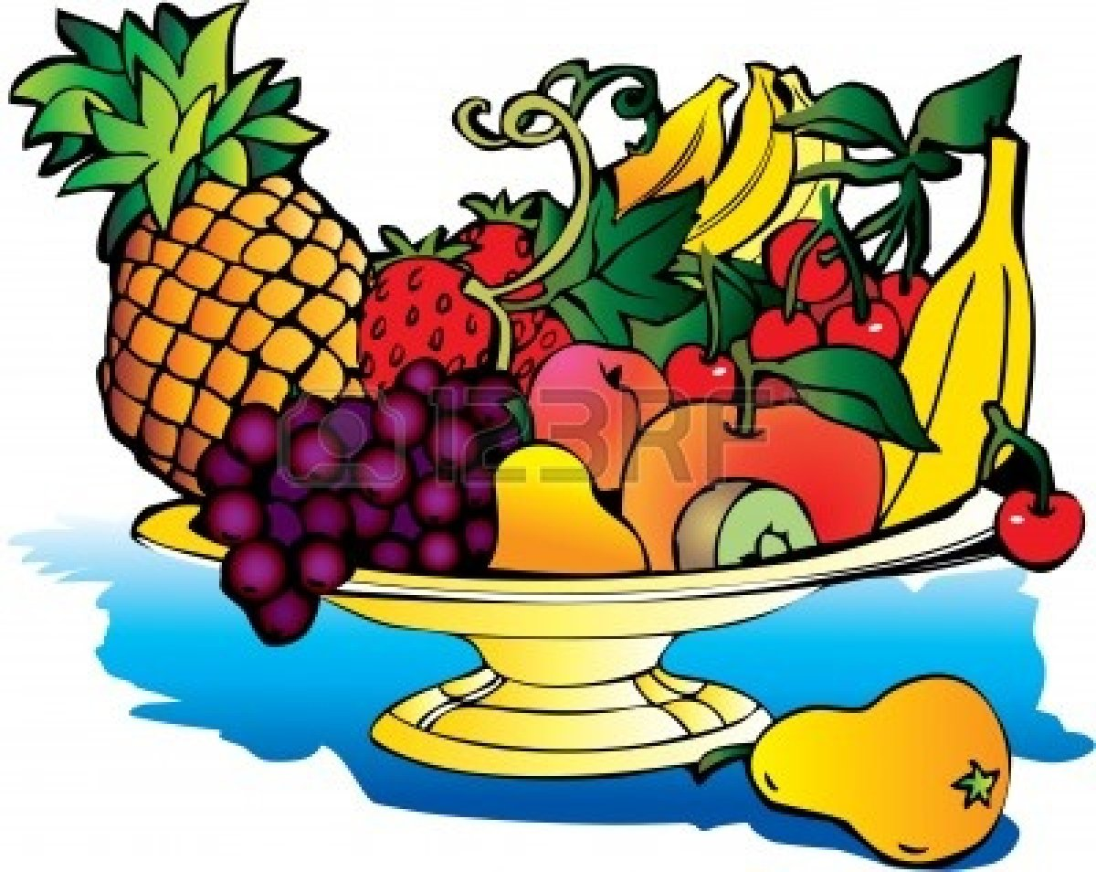 1200x954 Vegetables Clipart Fruit Plate