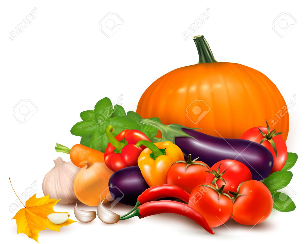1300x1036 Vegetables Clip Art