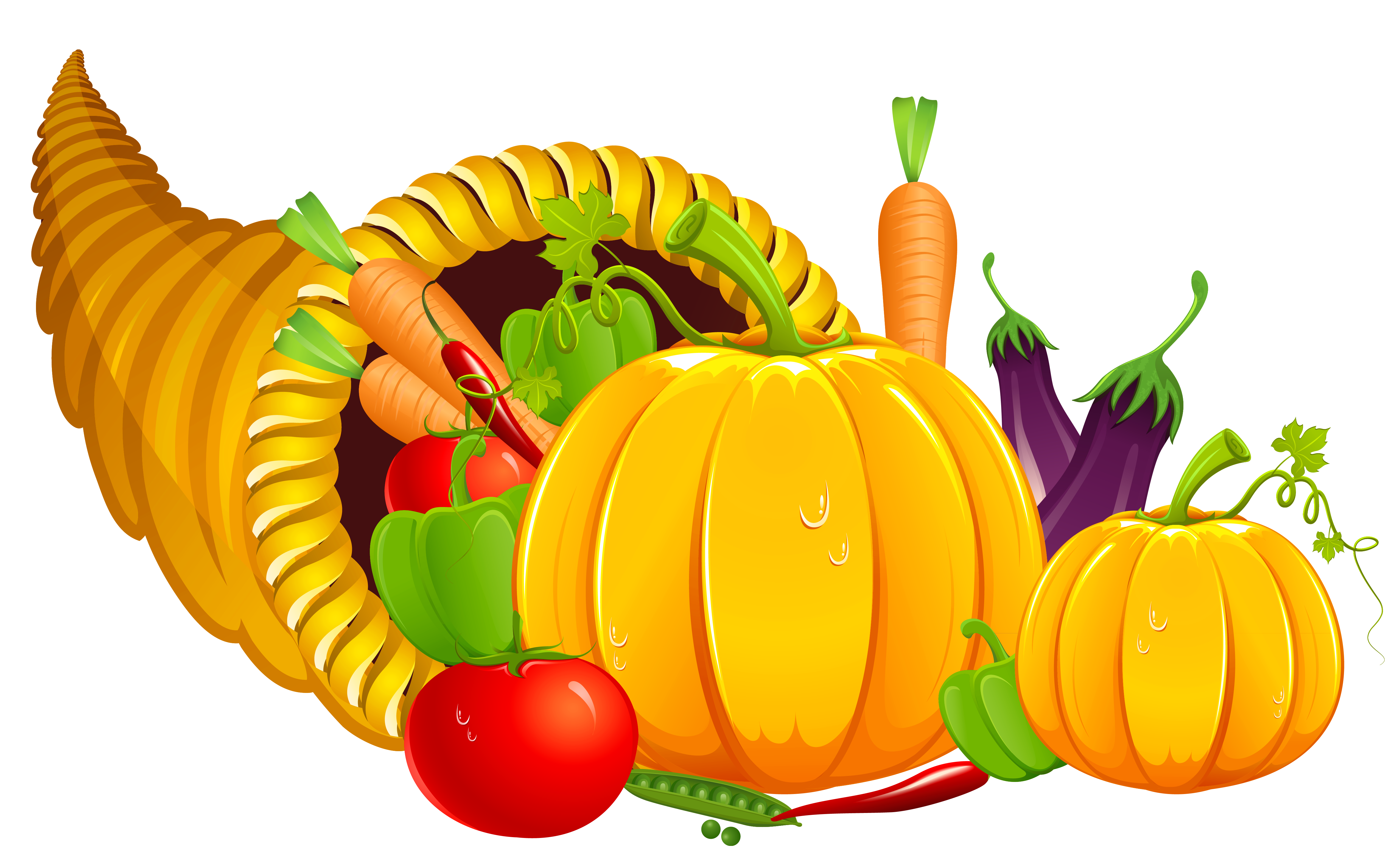 Basket Of Vegetables Clipart | Free download on ClipArtMag