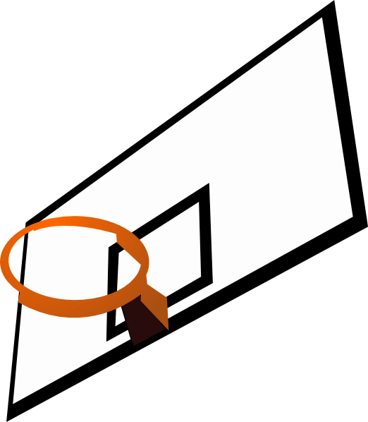 522x598 Basketball Rim Clip Art