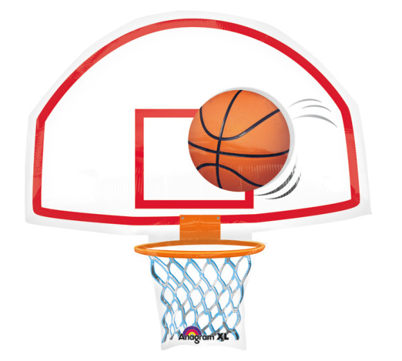 580x521 Clipart Basketball Hoop