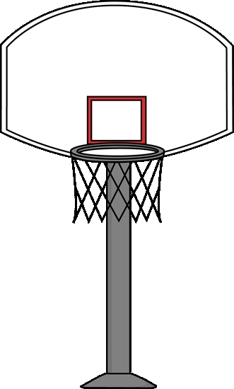 331x550 Basketball Hoop Basketball Goal Clip Art Clipart Gallery