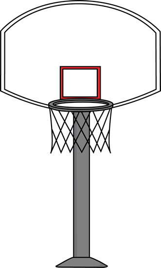 331x550 Basketball Goal Clip Art