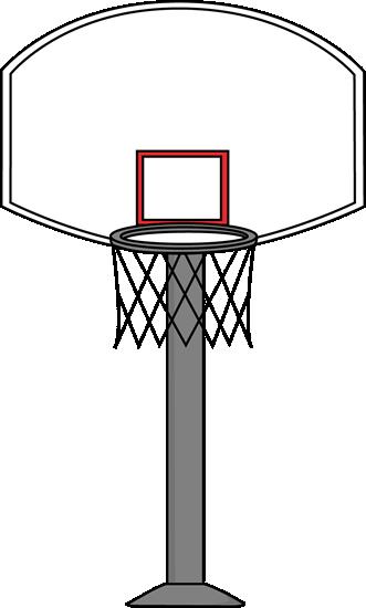 331x550 Basketball Goal Clip Art