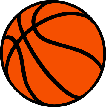 355x361 Basketball Clip Art 2