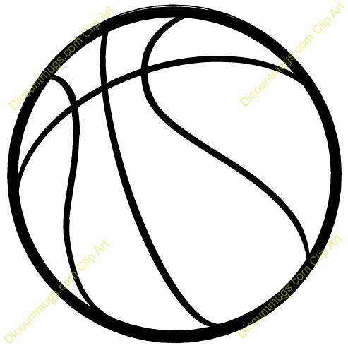 493x493 Clip Art Basketball