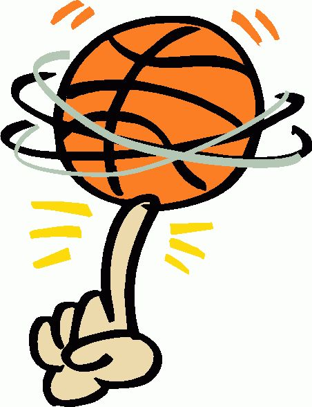 452x588 Clip Art Basketball