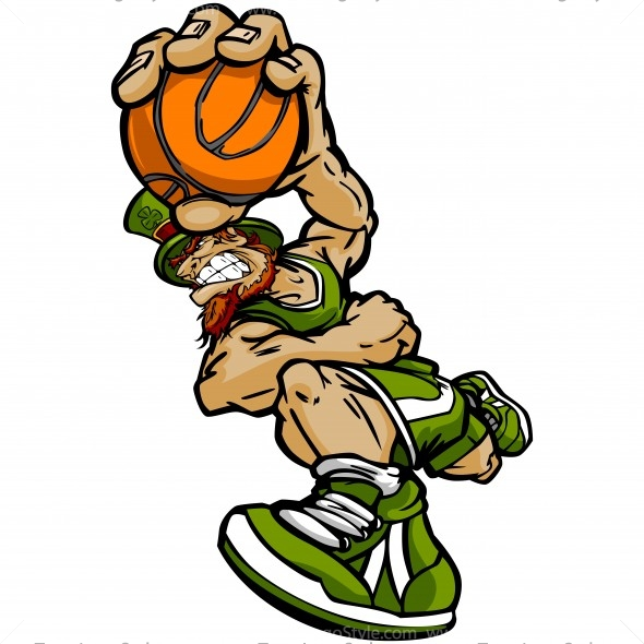 590x590 St Patricks Day Basketball Clip Art