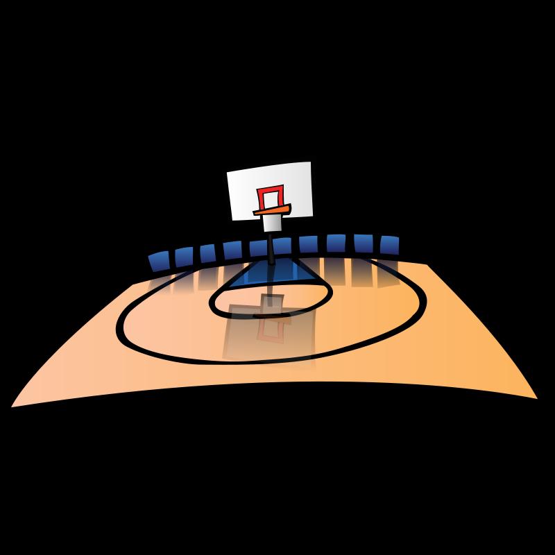 800x800 basketball court clip art Clipart Panda