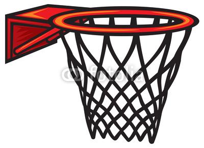 400x290 Basketball Hoop Clip Art