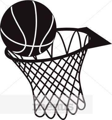 363x388 Basketball Hoop Clip Art