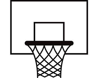 340x270 Basketball Net Svg Etsy